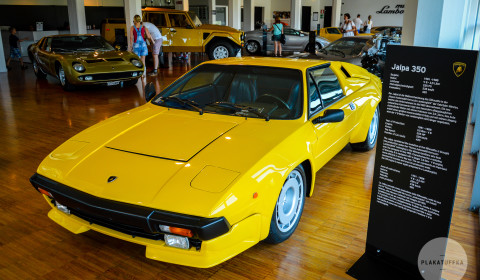 Sant'Agata Bolognese i muzeum Lamborghini