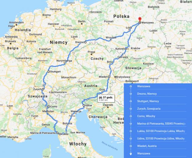 Eurotrip z dzieckiem: Niemcy - Szwajacaria - Włochy - Austria