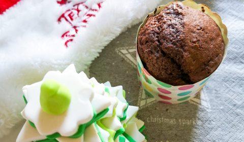Czekoladowe muffinki z mąką gryczaną